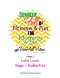 Weekly Bugs + Butterflies Lesson Plan for Pre-K, Preschool, Kindergarten
