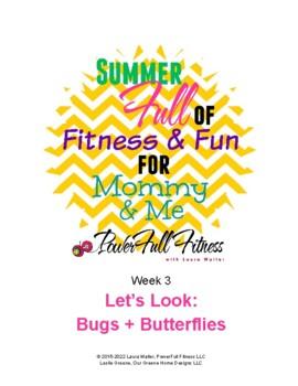 Weekly Bugs + Butterflies Lesson Plan for Pre-K, Preschool, Kindergarten