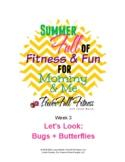 Weekly Bugs + Butterflies Lesson Plan for Pre-K, Preschool
