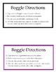 Weekly Challenge: Boggle Bulletin Board Bundle