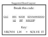 Weekly Challenge: Code Breaker Bulletin Board Bundle