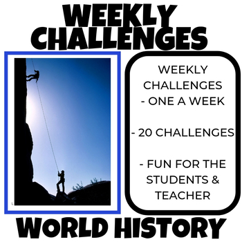 Weekly Challenges for all grades