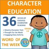 Word of the Week: 36 Weeks of Focused Character Building