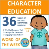 Word of the Week: 36 Weeks of Focused Character Building