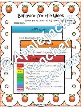 Weekly Communication Folder System - Editable - English/Spanish