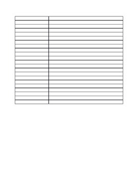 Weekly Communication Sign Up Sheet