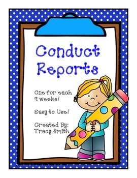 Weekly Conduct Report - Easy to use!