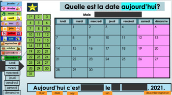 Weekly Core French Basics Routine PowerPoint