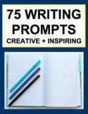 Writing Prompts (75): Creative Workbook