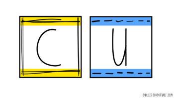 CUBES Bulletin Board Set (Math Problem Solving Strategy)