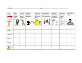 Weekly Discipline Chart- SPANISH