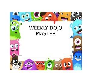 Weekly Dojo Master