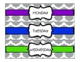 Weekly Drawer Labels *Freebie*