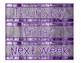 Sterilite Drawer Labels-Purple Beach Wood