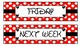 Weekly Drawer Labels for Sterlite Drawers - Disney/Minnie Inspired