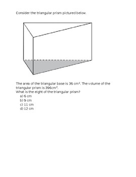 Weekly EQAO prep questions (Grade 6)