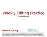 Weekly Editing Practice