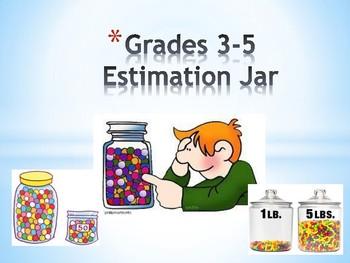 Weekly Estimation Jar Grades 3-5