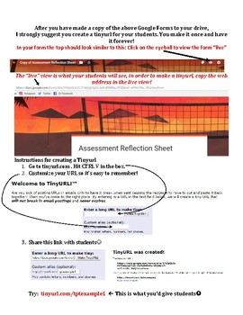 Weekly Exit Tickets using Google Forms