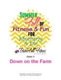 Weekly FARM Theme Lesson Plan - Homeschool, PreK, Preschoo