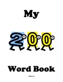 Weekly First Grade Sight Word Book 2