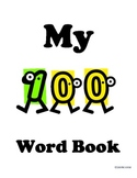 Weekly First Grade Sight Word Book