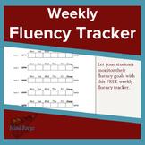 Weekly Fluency Tracker