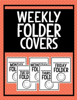 Weekly Folder Covers