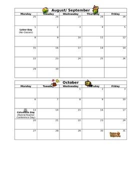 Weekly Folder Tracking Sheet (editable)
