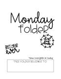 Weekly Folders