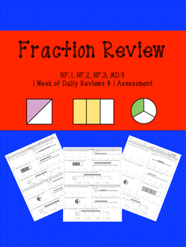 Weekly Fraction Review NF.1 NF.2 NF.3 MD.4