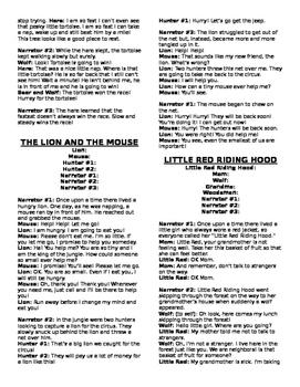 Weekly Freebie #93: Wild Animal Show Scripts