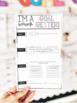 SMART goal setting sheet w/ poster, flip book, reflection journal, MORE!
