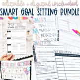 SMART goal setting forms, poster, flipbook, reflection jou