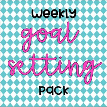 Weekly Goal Setting Pack