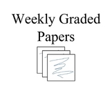 Weekly Graded Papers Docs
