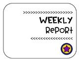 Weekly Grades Report