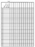 Weekly Grading Sheets
