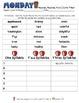 Weekly Grammar & Language:  Apples Galore!