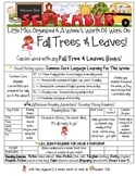 Weekly Grammar & Language:  Fall Trees!