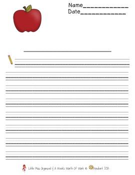 Weekly Grammar & Language:  Johnny Appleseed!