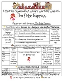 Weekly Grammar & Language Polar Express Packet