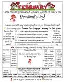 Weekly Grammar & Language President's Day Packet
