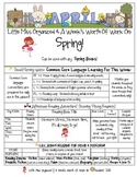 Weekly Grammar & Language Spring Packet