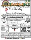 Weekly Grammar & Language St. Patrick's Day Packet