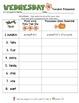 Weekly Grammar & Language:  The Life Cycle Of Pumpkins!