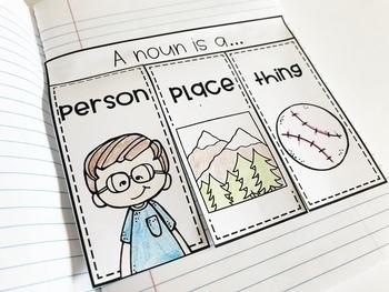 Weekly Grammar and Language Activities: Nouns