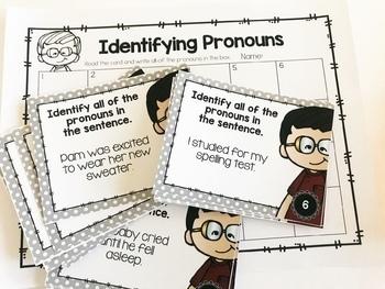 Weekly Grammar and Language Activities: Pronouns