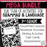 Grammar Third Grade Activities: Year-Long BUNDLE