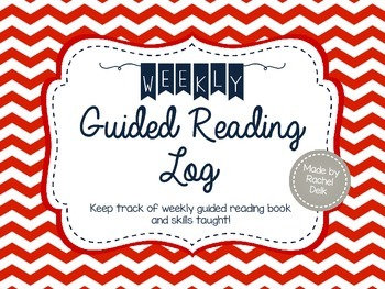 Weekly Guided Reading Log